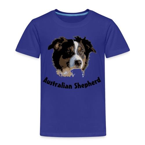 tier hunde t-shirt australian shepherd aussie hund hüte hüten border collie agility - Kinder Premium T-Shirt