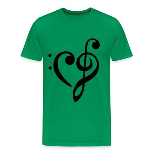 grimmie shirt heren - Mannen Premium T-shirt