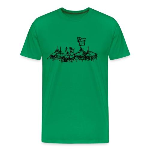 ... mein Dorf - Männer Premium T-Shirt