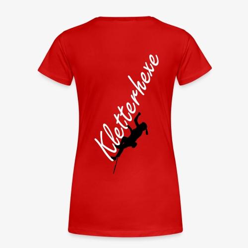 Kletterhexe (women) - Frauen Premium T-Shirt