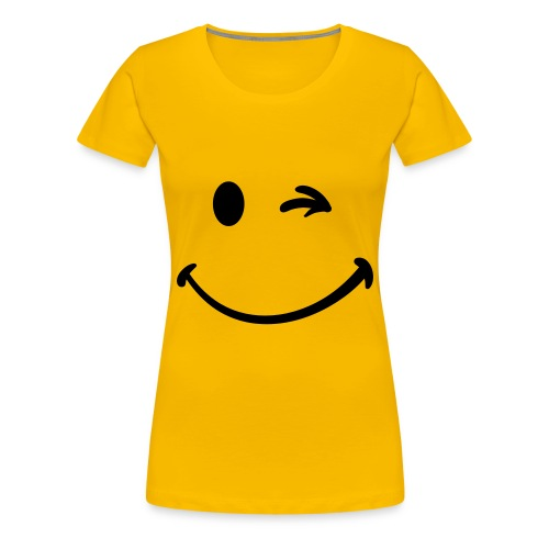 Zwinker - Frauen Premium T-Shirt