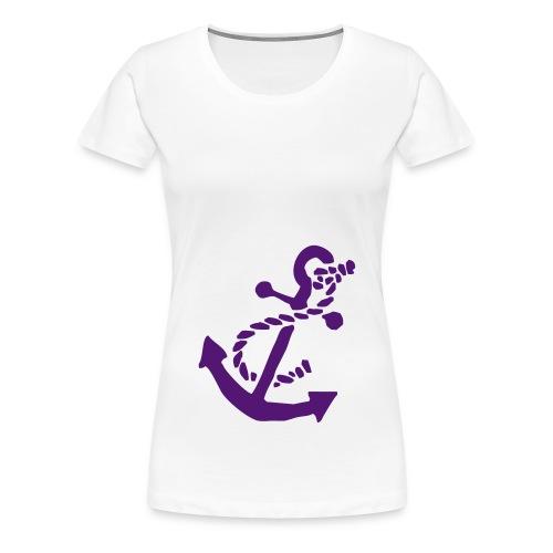 Wirf den Anker - Frauen Premium T-Shirt