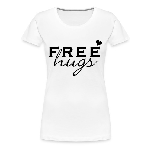 Womens tight fit - Free hugs - Women's Premium T-Shirt
