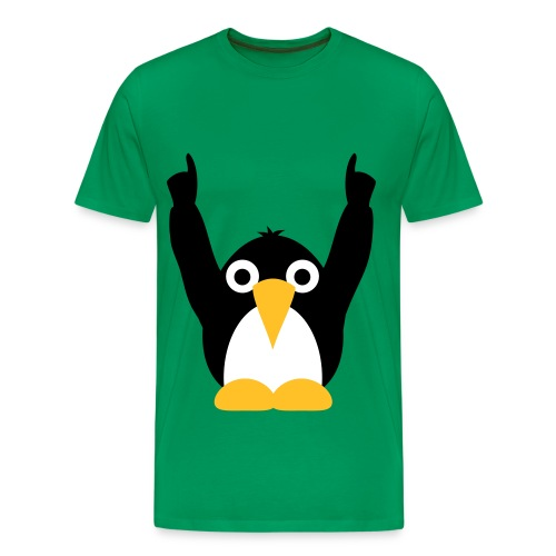 party pinguine - Mannen Premium T-shirt