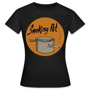 Smoking Pot - Frauen T-Shirt