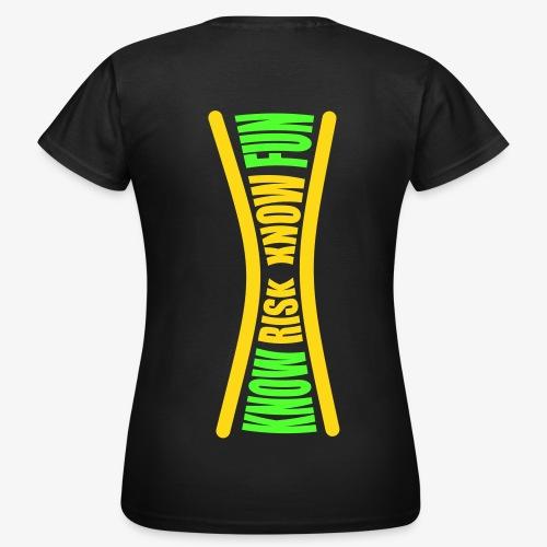 know risk / know fun - olive (women) - Frauen T-Shirt