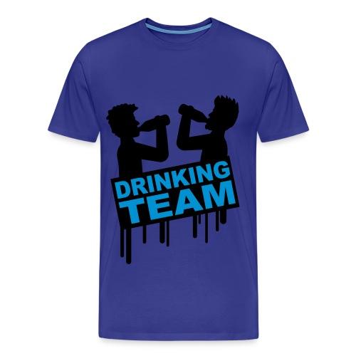 DRINKING TEAM! - Men's Premium T-Shirt