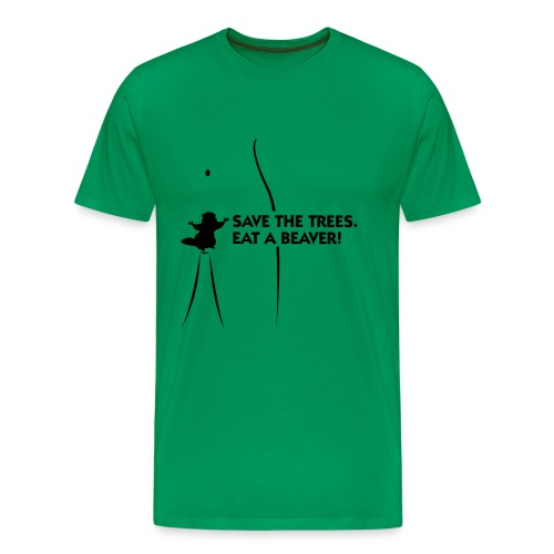 Save trees T-shirt - Men's Premium T-Shirt