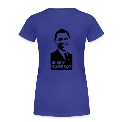 ik heb al een loverboy - Vrouwen Premium T-shirt