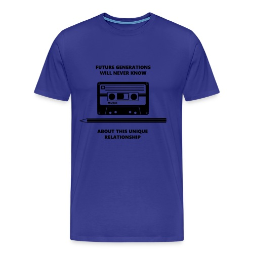 Cassette T-shirt  - Men's Premium T-Shirt