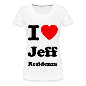 Women Shirt: I love Jeff Residenza - Vrouwen Premium T-shirt