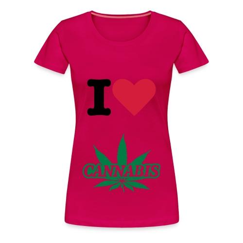 Weed T-shirt voor vrouwen! - Vrouwen Premium T-shirt