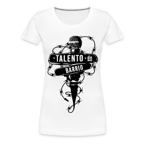 t-shirt wom talentodbarrio var col - Maglietta Premium da donna