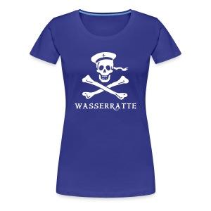 Lady Wasserratte - Frauen Premium T-Shirt