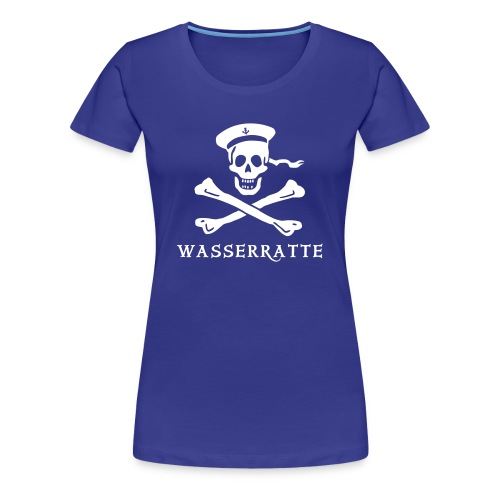 Lady Wasserratte - Frauen Premium T-Shirt