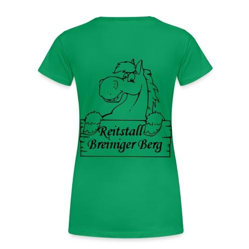 Reitstall Breiniger Berg - Groß - Frauen Premium T-Shirt