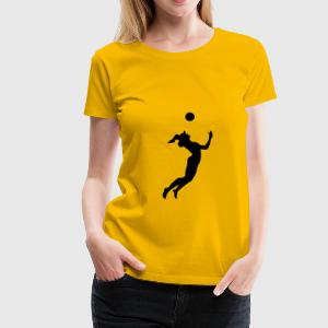 beach-volley beach volleyball T-Shirts - T-shirt Premium Femme