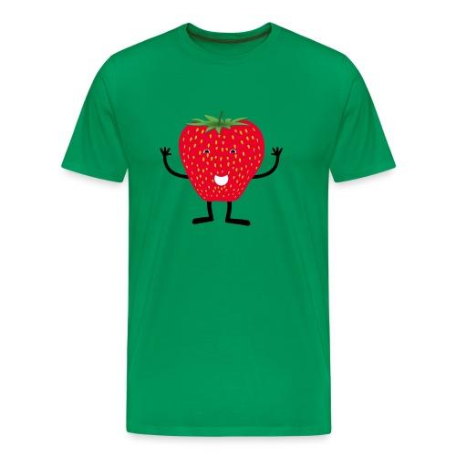 Erdbeerchen T-Shirt - Männer Premium T-Shirt