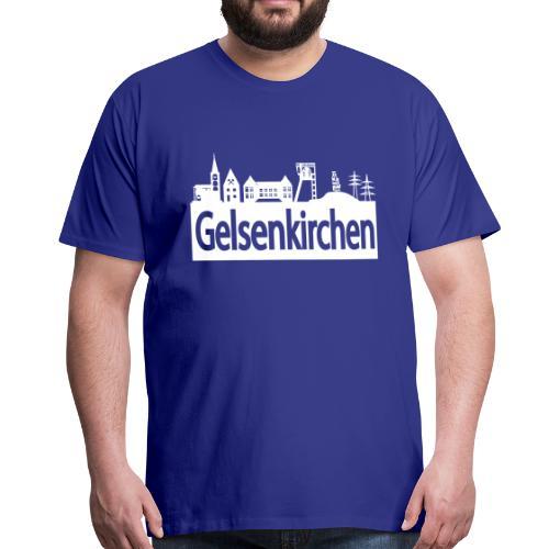 Skyline Gelsenkirchen - Männer T-Shirt klassisch - Männer Premium T-Shirt
