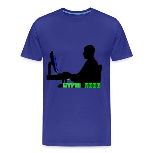 RTFM NOOB - Men's Premium T-Shirt