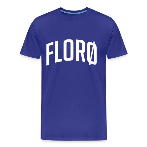 Florø (sted) - Premium T-skjorte for menn