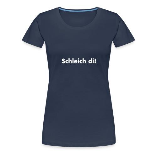 Schleich di!-  schwarz, verschiedene Farben - Frauen Premium T-Shirt