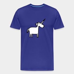 Fat Unicorn - Männer Premium T-Shirt