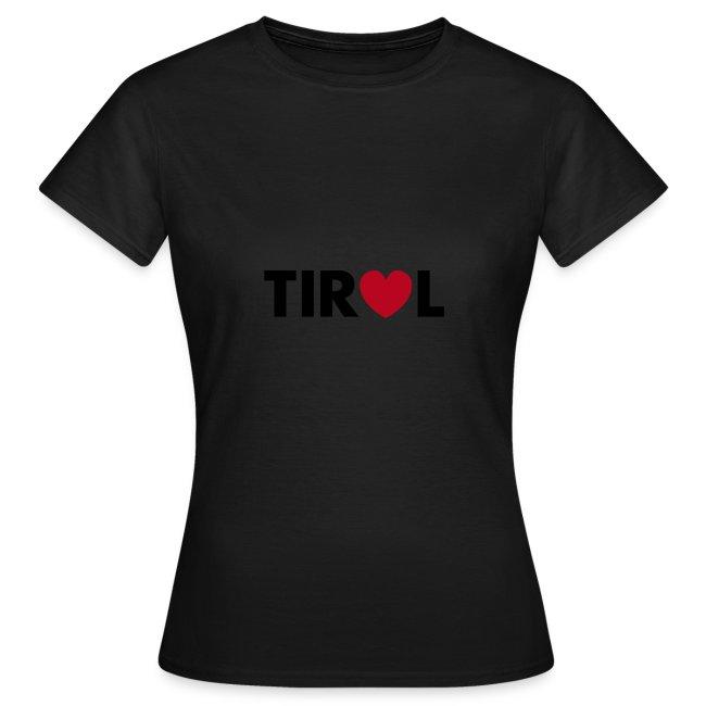 TIROL - schwarz/rot, verschiedene Farben