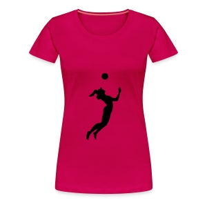 Volleyball, Beach volleyball T-Shirts - Premium T-skjorte for kvinner