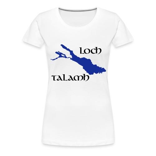 Loch Talamh T-Shirt, Frauen - Frauen Premium T-Shirt