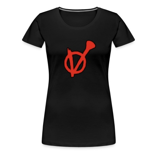 V-Logo für die Mädels - Frauen Premium T-Shirt