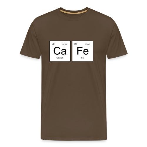 CaFe Périodique - T-shirt Premium Homme