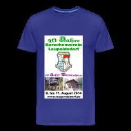 T-Shirts ~ Männer Premium T-Shirt ~ 40 Jahre BVL - 10 Jahre Vereinshaus
