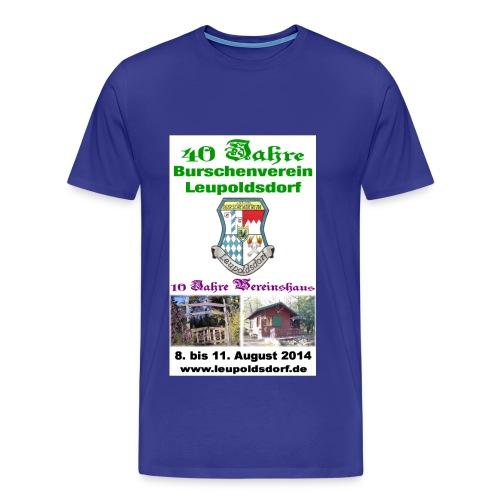 40 Jahre BVL - 10 Jahre Vereinshaus - Männer Premium T-Shirt