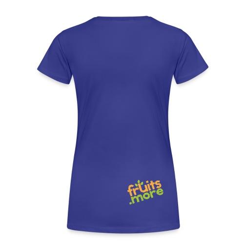 Logo-Shirt Rücken 5 - Frauen Premium T-Shirt