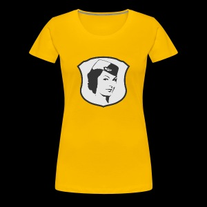 Flight Attendant Stewardess - Frauen Premium T-Shirt