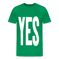 T-Shirts ~ Men's Premium T-Shirt ~ YES T-shirt