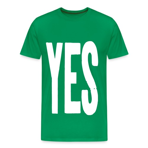 YES T-shirt - Men's Premium T-Shirt