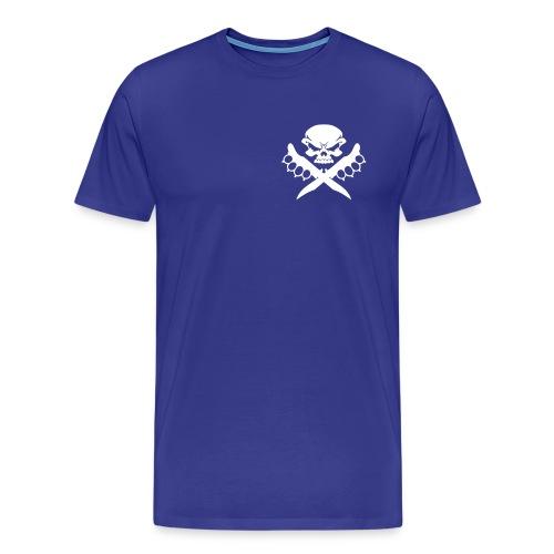T-Shirt Kali Knife Fighter for Man in royalblau - Männer Premium T-Shirt