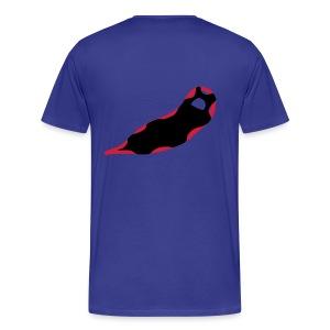 Schneeschuh Shirt - Männer Premium T-Shirt