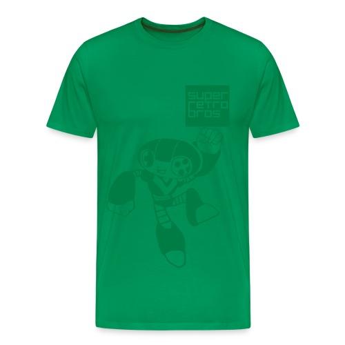 GREEEN! - Premium-T-shirt herr