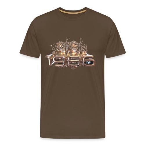 1986 Metall flüssig - Männer Premium T-Shirt