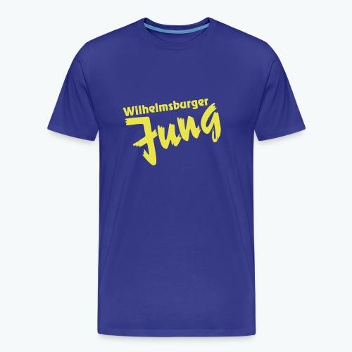 Wilhelmsburger-Jung T-Shirt/royalblau - Männer Premium T-Shirt