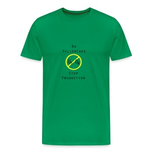 NO YELLOWCAKE - Männer Premium T-Shirt