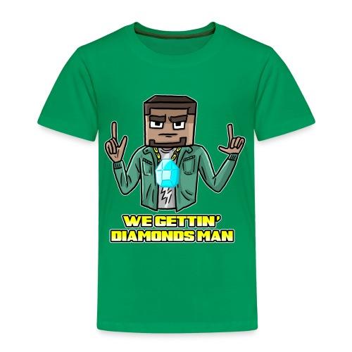 Kid's WE GETTIN DIAMONDS Classic T-Shirt - Kids' Premium T-Shirt