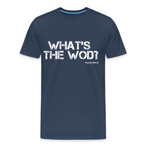 What's the WOD? herr - Premium-T-shirt herr