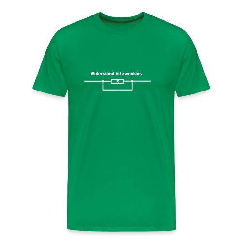 Widerstand ist zwecklos - Männer Premium T-Shirt
