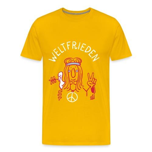 Weltfrieden T-Shirts - Männer Premium T-Shirt