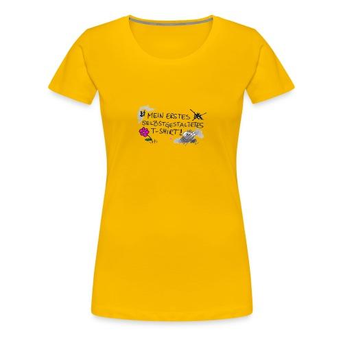 mein erstes T-Shirt - Frauen Premium T-Shirt