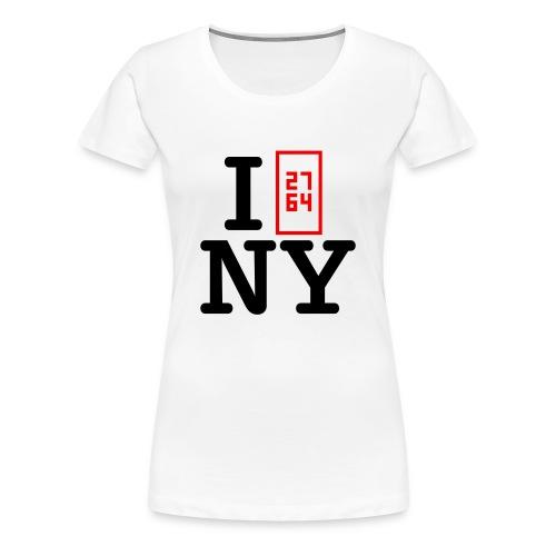 I❤NY - Frauen Premium T-Shirt